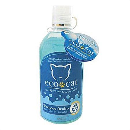 Shampoo Neutro ECO CAT 500ml com Óleo de Copaíba