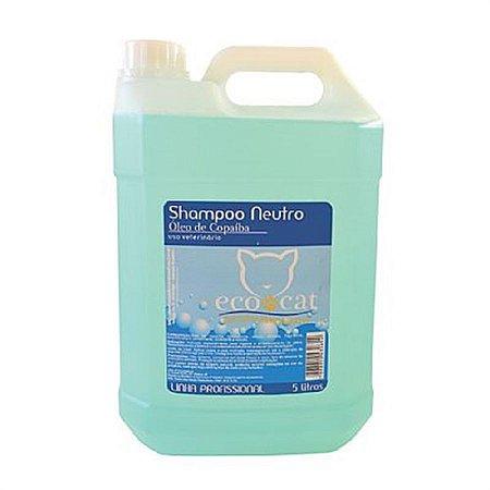 Shampoo Neutro ECO CAT 5 L com Óleo de Copaíba