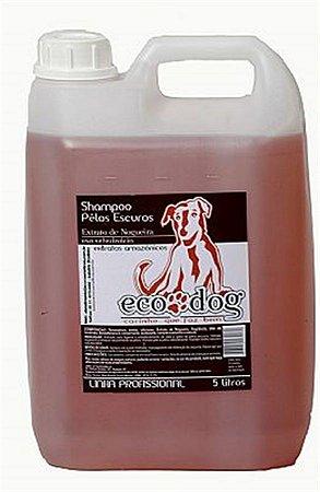 Shampoo Pelos Escuros ECO DOG 5L com Óleo de Copaíba e Extrato de Nogueira