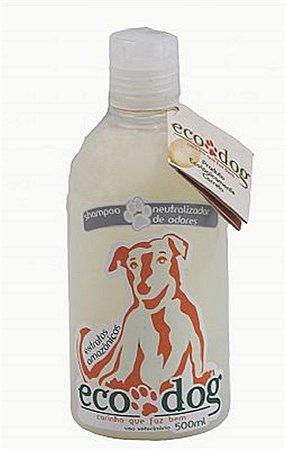 Shampoo Neutralizador de Odores ECO DOG 500ml com Óleo de Copaíba
