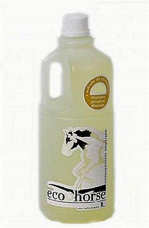 Shampoo Pelagem Dourada ECO HORSE 1L com Óleo de Andiroba, Copaíba e Extrato de Camomila