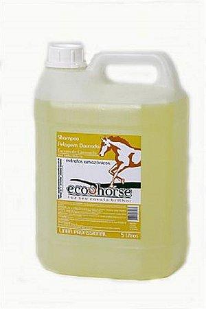 Shampoo Pelagem Dourada ECO HORSE 5L com Óleo de Andiroba, Copaíba e Extrato de Camomila