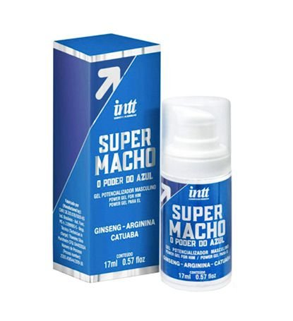 Super Macho O Poder Do Azul 17ml Intt