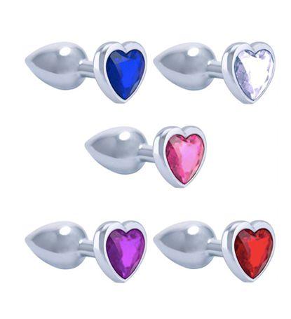 Plug Em Metal Cromado Coração Gtoys
