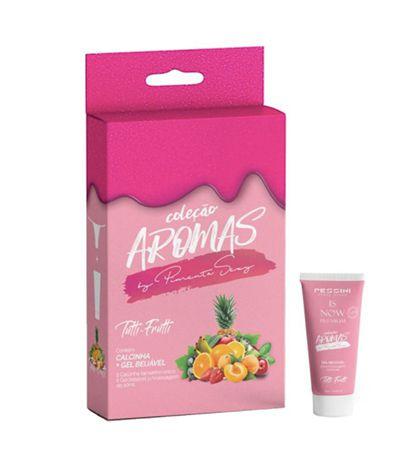 Kit Sensual Aromas Sabor Tutti Frutti