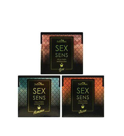 Vela Sex Sens Massagem Aromática 20g