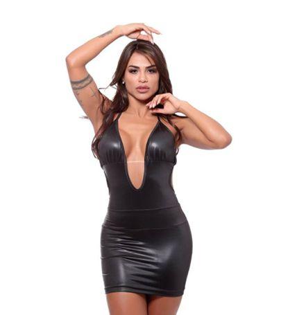 Vestido Fente Única Dominatrixxx