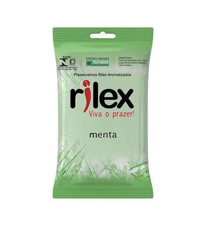 Preservativo Menta 03 Unidades Rilex