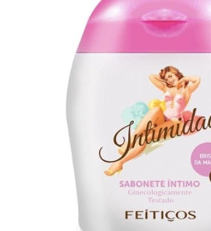 Kit Soft Wave Desodorante Íntimo fragancia algodão doce + Intimidad Sabonete Íntimo