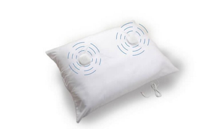 Travesseiro para Terapia de Zumbido com Alto Falante - incluso os altos falantes