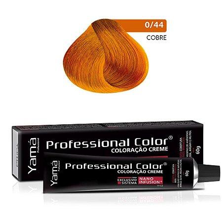 Coloração Yamá Creme Professional Color Nano Infusion Mix Cobre