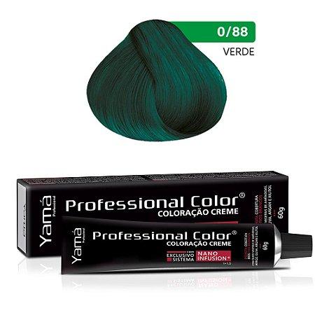 Coloração Yamá Creme Professional Color Nano Infusion Mix Verde