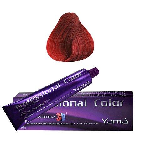 Coloração Professional Color N. 7.66 Louro Médio Vermelho Intenso  60g
