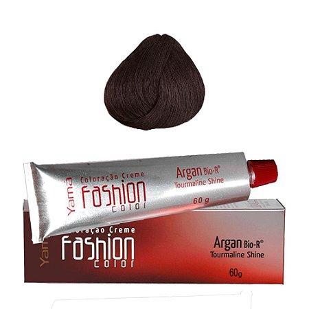 Coloração Yamá Fashion Color Argan N. 4.44 Castanho Acobreado Intenso  60g