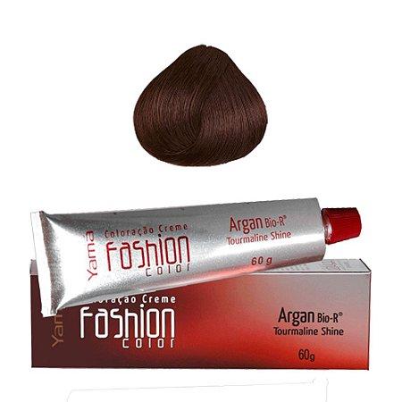 Coloração Yamá Fashion Color Argan N. 6.41 Louro Escuro Cobre Cinza  60g