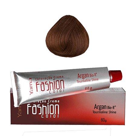 Coloração Yamá Fashion Color Argan N. 6.77 Louro Escuro Marrom Intenso  60g
