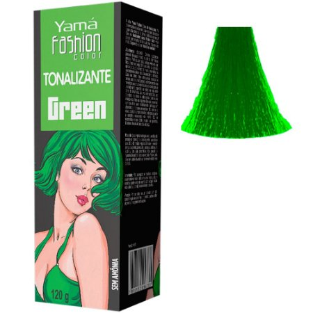 Tonalizante Fantasia Fashion Color Green