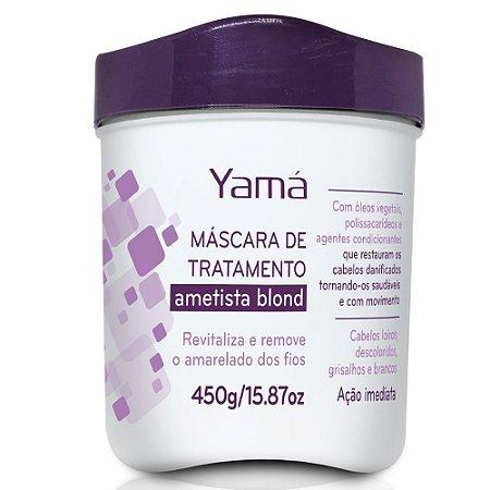 Yamá Ametista Blond Máscara Hidratante  450g