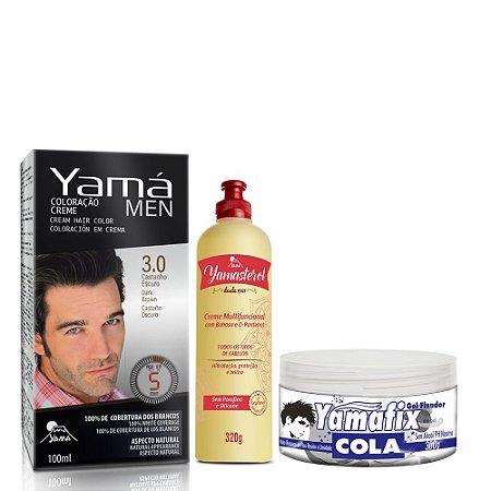 KIT PROMOCIONAL YAMAFIX + YAMÁ MEN (3.0) + YAMASTEROL