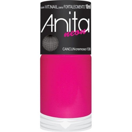 Esmalte Anita Cremoso Neon - Cancun