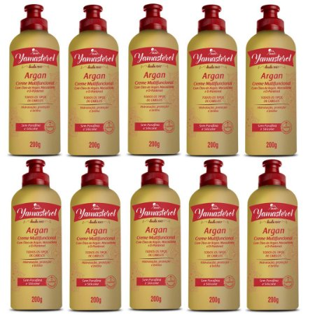Creme Multifuncional Yamasterol Argan  200g (Kit C/10) - Perfumaria em Casa