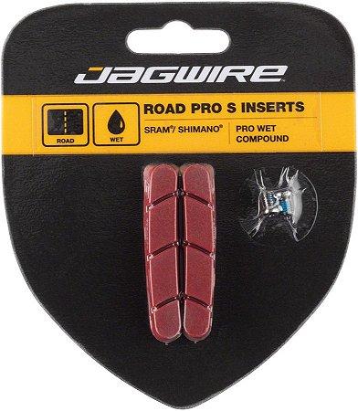 Sapata de Freio Jagwire JS453RW Road Pro S Wet p/ Chuva