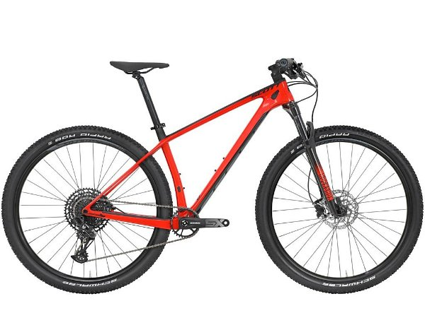 Bicicleta MTB Scott Scale 940 Red Carbon 2021 - Sram Eagle 12v