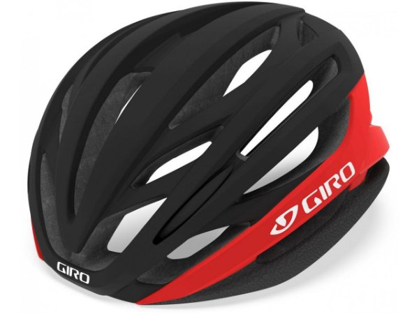 Capacete Ciclismo Giro Syntax MIPS 2021 - Matte Black / Bright Red