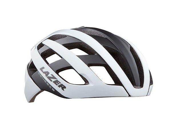 Capacete Ciclismo Lazer Genesis - White Black
