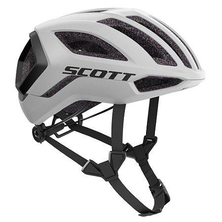 Capacete Scott Centric Plus MIPS 2021 - White / Black