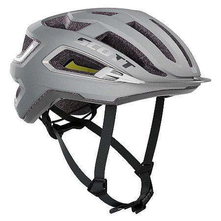 Capacete Ciclismo Scott ARX Plus (CE) 2021 - Vogue Silver / Reflective