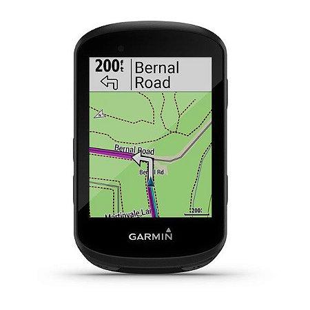 Ciclocomputador com GPS Garmin Edge 530 com Mapeamento de Informações