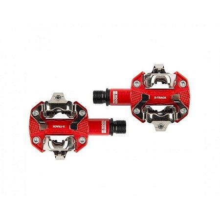 Pedal MTB Look X-Track - Vermelho