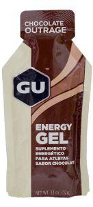 GU Energy Gel - Sabor Chocolate Belga - Caixa c/ 24 Sachês