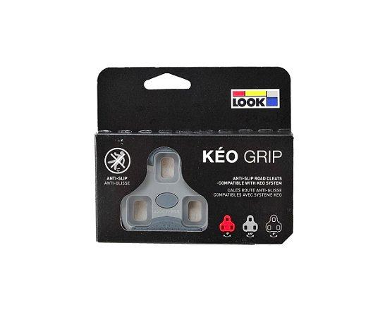 Taco Pedal Look Keo Grip - Cinza
