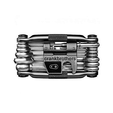 Canivete Multiferramenta Crank Brothers Multi 19 c/ Estojo - Diversas Cores
