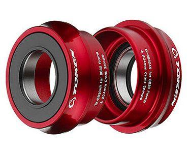 Movimento Central Token Press Fit BB30AR p/ Shimano (24mm) ou GXP - Opção de Cores
