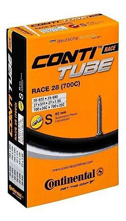 Câmara Speed Continental Conti Tube Race 28 (700c) S60 Bico 60mm