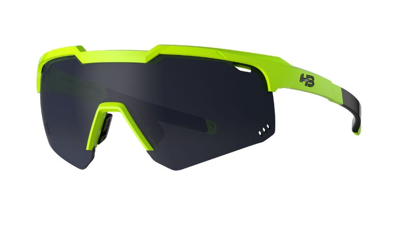 Óculos HB Shield Evo Road - Neon Yellow / Gray