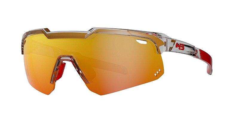 Óculos HB Shield Evo Mountain - Clear / Multi Red