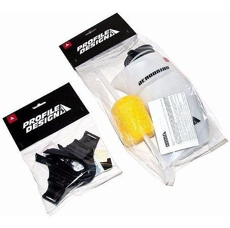 Caramanhola Triathlon Profile Design Aerodrink c/ Suporte Universal (900ml)
