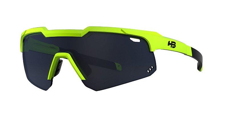 Óculos HB Shield Evo Mountain - Neon Yellow / Gray