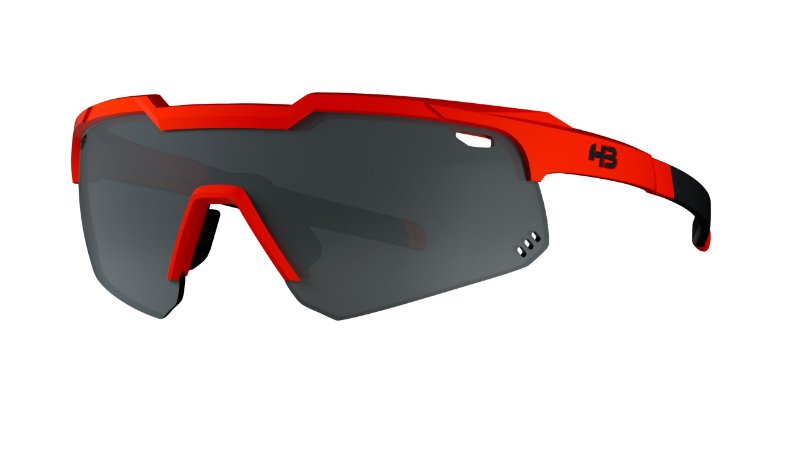 Óculos HB Shield Evo Mountain - Matte Orange  / Silver Lens