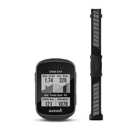 Ciclocomputador com GPS Garmin Edge 130 Plus Bundle EU