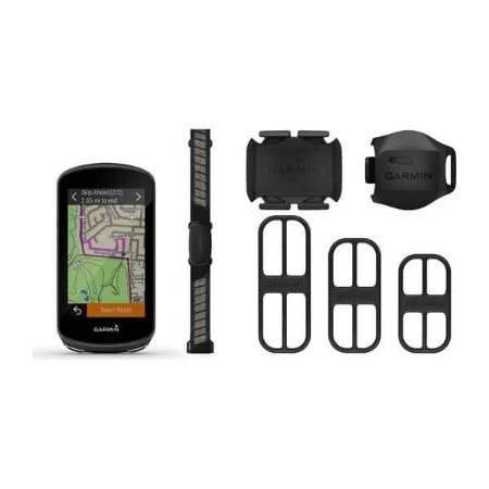 Ciclocomputador com GPS Garmin Edge 1030 PLUS Bundle, com Cinta Cardíaca e Sensores de Velocidade e Cadência