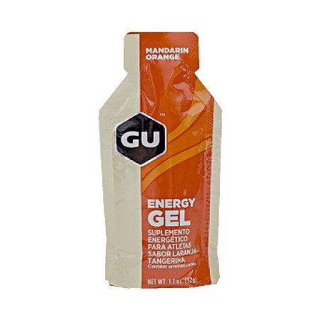 GU Energy Gel - Sabor Laranja Tangerina - Caixa c/ 24 Sachês