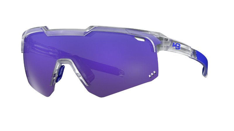 Óculos HB Shield Evo Road - Clear / Multi Purple