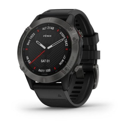 Monitor Cardíaco de Pulso com GPS Garmin Fênix 6 Pro c/ Tela de Safira