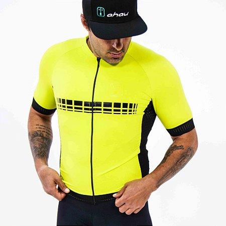 Camisa Ciclismo AHAU Racing EVO Lima - Masculina