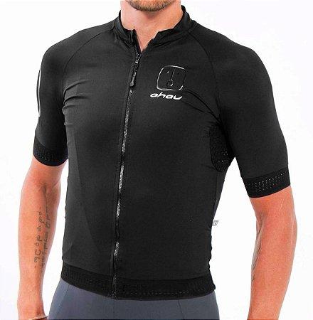 Camisa Ciclismo AHAU Black Tie - Masculina